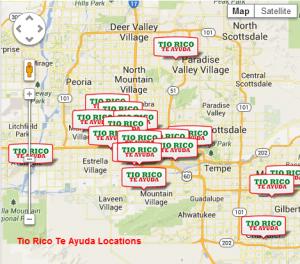 Tio Rico's Phoenix Locations My Tio Rico