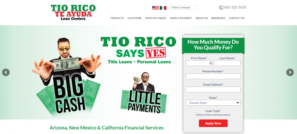 Tio Rico Launches New Website