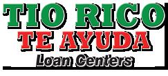 Tio Rico Te Ayuda Loan Centers Logo