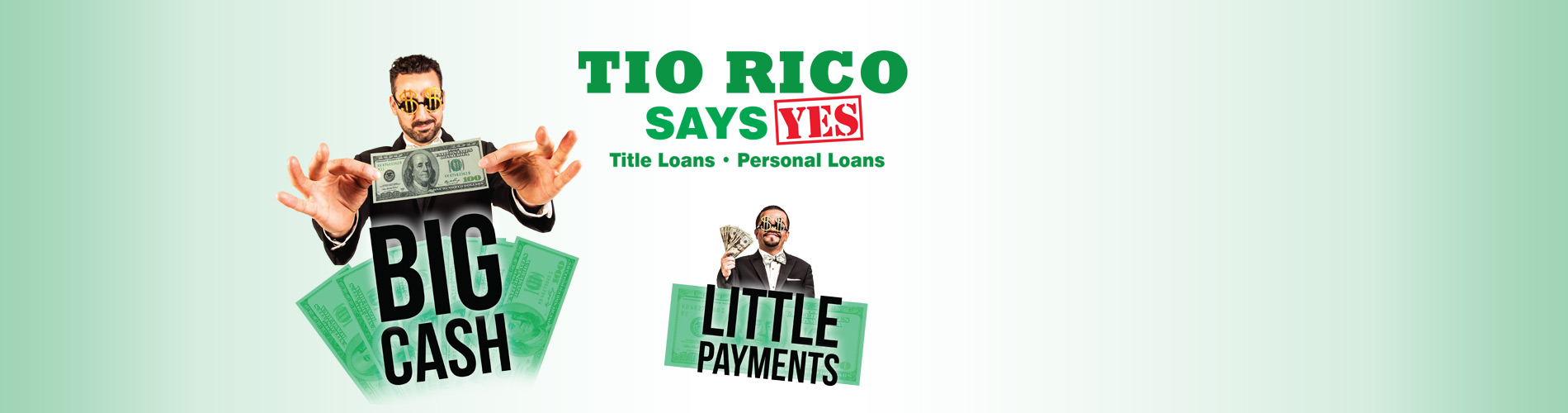 Big cash little payments Title loans and personal loans