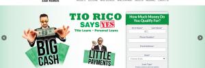 Tio Rico Homepage Image