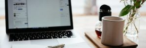 planning finances at desk